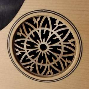 Mustafa Copcuoglu Oud small rosette - Photo by Francesco Iannuzzelli